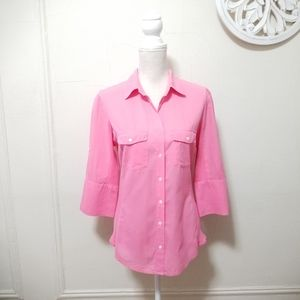 James perse size 4 button down shirt